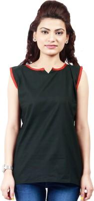 Maxi Fashion Casual Solid Women's Kurti