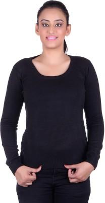 Deutz Casual Full Sleeve Solid Women's Blue Top