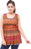 Kashana Fashions Party Sleeveless Printe...