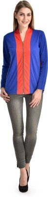 Sharleez Casual Full Sleeve Solid Women's Multicolor Top