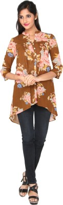 AATMIK Casual 3/4 Sleeve Printed Women's Multicolor Top
