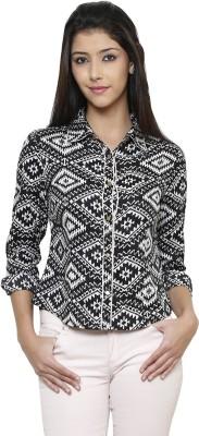 Rigo Casual Full Sleeve Self Design Women's Multicolor Top