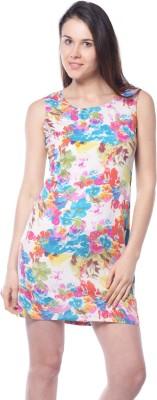 Meira Party Sleeveless Printed Women's Multicolor Top