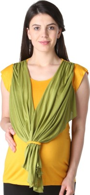Morph Maternity Casual Short Sleeve Solid Women's Yellow, Green Top
