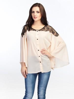 Schwof Casual Full Sleeve Solid Women's Pink Top