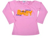 Perky Top For Baby Girl's Casual Cotton