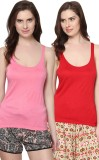 Trend18 Casual Sleeveless Solid Women's ...