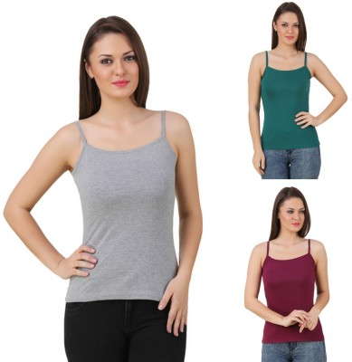 99DailyDeals Wedding, Party, Sports, Beach Wear, Festive Sleeveless Solid Women's Multicolor Top