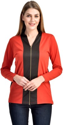 Visach Casual Full Sleeve Solid Women's Multicolor Top