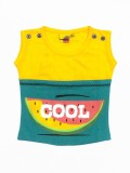 Tomato Top For Girls Casual Cotton (Gree...