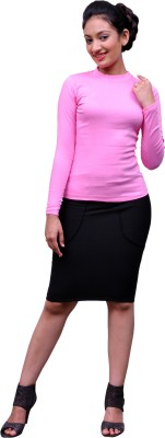 Change360?? Casual, Party Full Sleeve Solid Women's Pink Top
