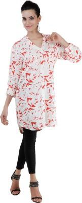 Pret a Porter Casual 3/4 Sleeve Graphic Print Women's Multicolor Top