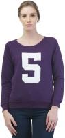 Merch21 Casual Full Sleeve Solid Women's Purple Top best price on Flipkart @ Rs. 348