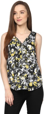 Hapuka Casual Sleeveless Printed Women's Multicolor Top