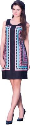 Fleeta Casual, Party, Festive Sleeveless Printed Women's Multicolor Top