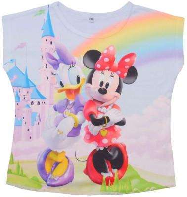 Shopaholic Fashion Casual Short Sleeve Printed Women,s Multicolor Top