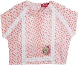 Barbie Top For Baby Girls Casual (Pack o...