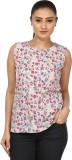 Coash Casual Sleeveless Floral Print Wom...