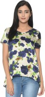 Bgs Women's Clothing - BGS Party Short Sleeve Printed Women's Multicolor Top