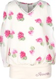 Cutecumber Top For Girls Party Georgette...