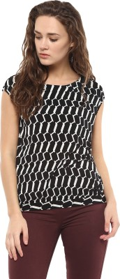 Avirate Casual Sleeveless Printed Women's Multicolor Top