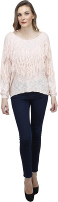 Pab Jules Casual Full Sleeve Solid Women's Pink Top