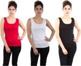 Piftif Sports Sleeveless Solid Women's M...