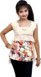 Blinkin Top For Casual Cotton Top (Beige...