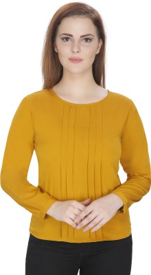 Mozoi Casual Full Sleeve Solid Women