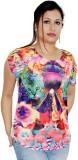 Pindia Printed Women's Round Neck T-Shir...