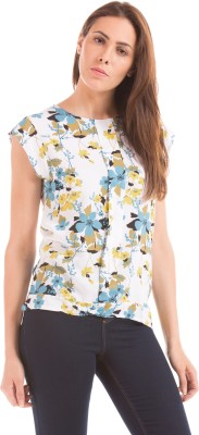 Prym Casual Sleeveless Solid Women's White Top