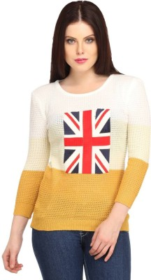 Snoby Casual Full Sleeve Printed Women's Multicolor Top