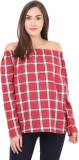 Label VR Casual Full Sleeve Checkered Wo...