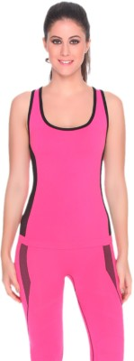 C9 Sports Sleeveless Solid Women's Pink Top