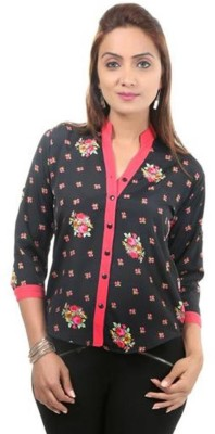 Moda Desire Casual 3/4th Sleeve Printed Women's Multicolor Top at flipkart