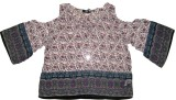 Carmino Casuals Casual Bell Sleeve Print...