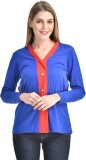 Visach Casual Full Sleeve Solid Women's ...