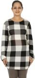 Mamma Mia Casual Full Sleeve Checkered W...