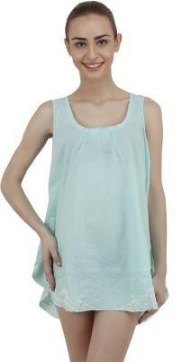 Hapuka Casual Sleeveless Solid Women's Light Green Top