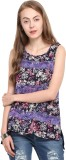Free & Young Casual Sleeveless Printed W...
