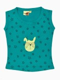Tomato Top For Girls Casual Cotton Top