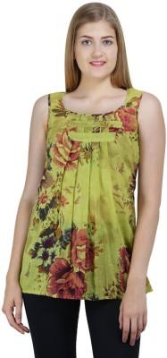 Bainy Casual Sleeveless Printed Women,s Multicolor Top