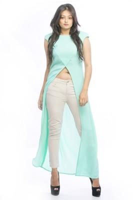 Pinwheel Lounge Wear Sleeveless Solid Women's Light Green, Light Blue Top