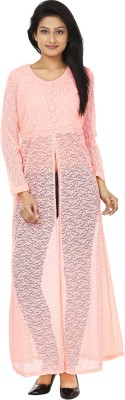 Anam Export Casual Full Sleeve Solid Women's Pink Top