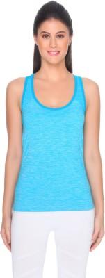 C9 Sports Sleeveless Solid Women's Light Blue Top