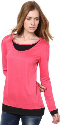 GOLDEN COUTURE Casual, Formal, Party Full Sleeve Solid Women's Multicolor Top