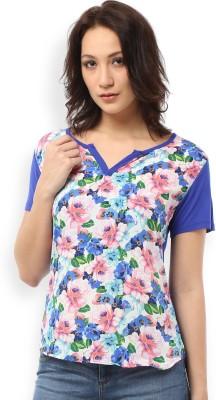 Ten on Ten Casual Short Sleeve Floral Print Women's Multicolor Top