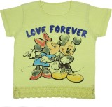 Mickey & Friends Top For Casual Cotton T...