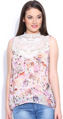 Envy Me Casual Sleeveless Printed Women's Multicolor Top