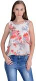 Raabta Fashion Casual Sleeveless Floral ...